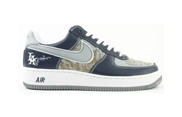 Nike Air Force Ones Blue Navis