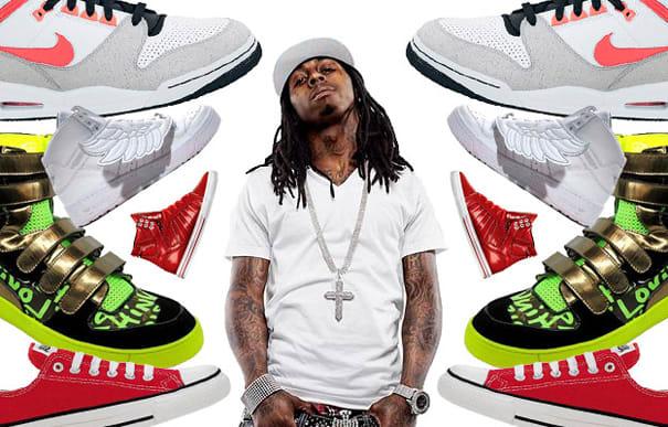 Tha Carter s Kicks  Lil Wayne s Greatest Footwear Moments  ce302820e0
