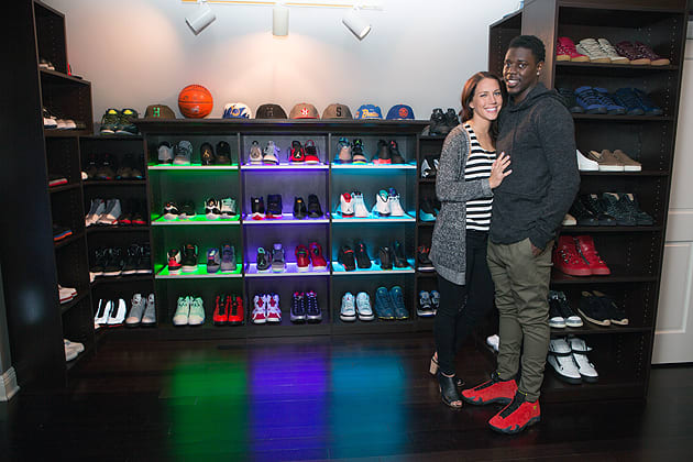 Another NBA All-Star Has a Dope Sneaker Room and We re Not Surprised 73e3f93e4