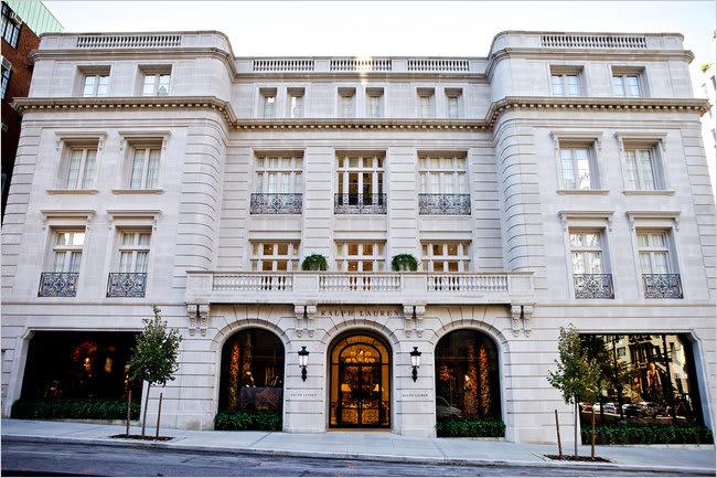 Ralph lauren rhinelander mansion the 50 best stores in for Ralph lauren nyc office
