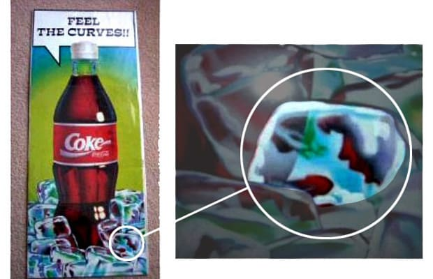 Coke - 25 Completely Inappropriate Booze and Food Ads ...