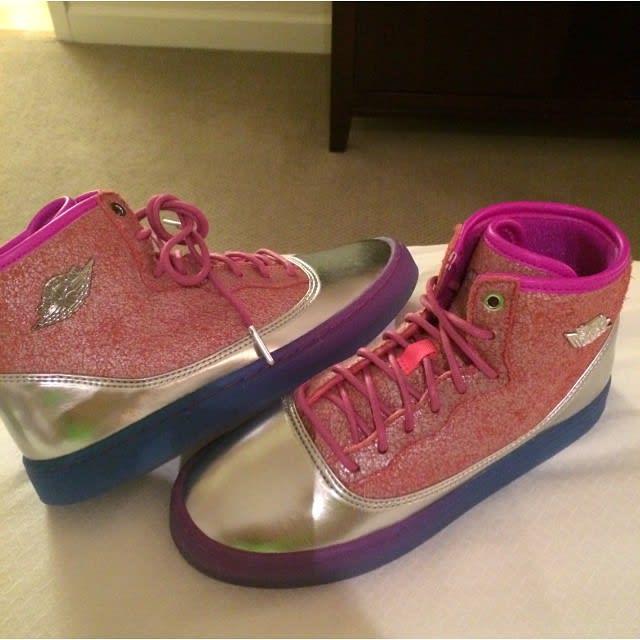 Nicki Minaj Just Unveiled Her Own Air Jordans