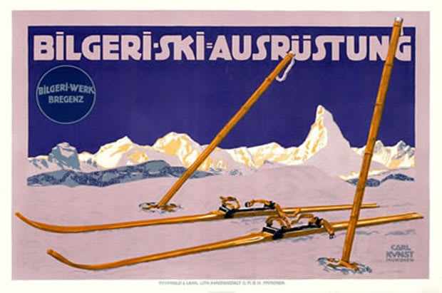 12 gallery 15 awesome antique ski posters complex