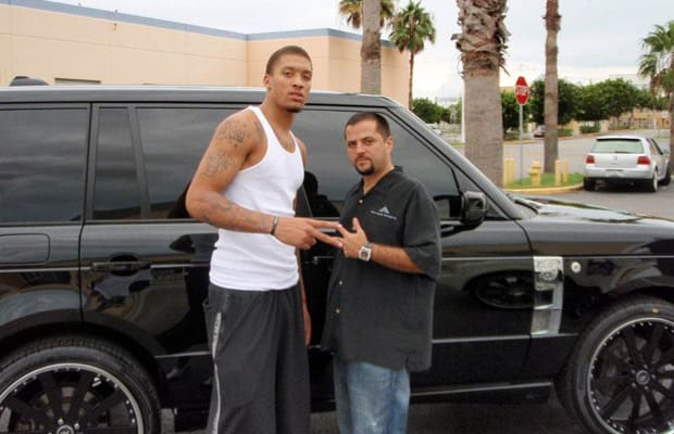 Range Rover - 25 NBA Players and Their Cars | Complex Kobe Bryant Range Rover