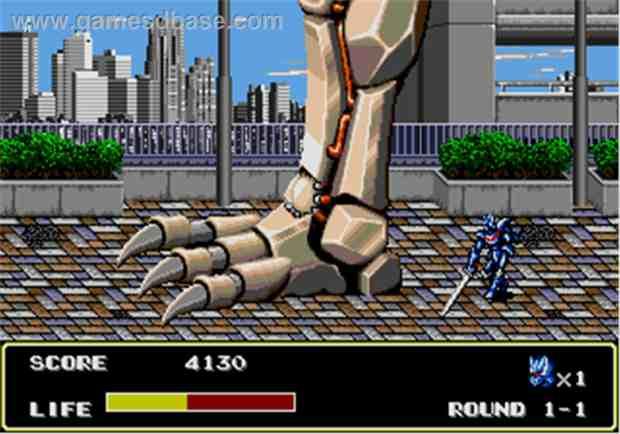 Mazin Saga Mutant Fighter The 100 Best Sega Genesis