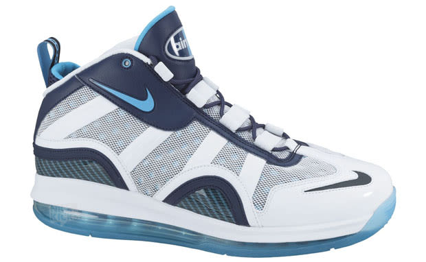 premium selection bd4e2 183b7 The updated version of Chris Webber s 1995 sneaker, the Nike Air Max  Sensation 2011, gets a new colorway. Sitting on top of the Air Max 360  sole, ...