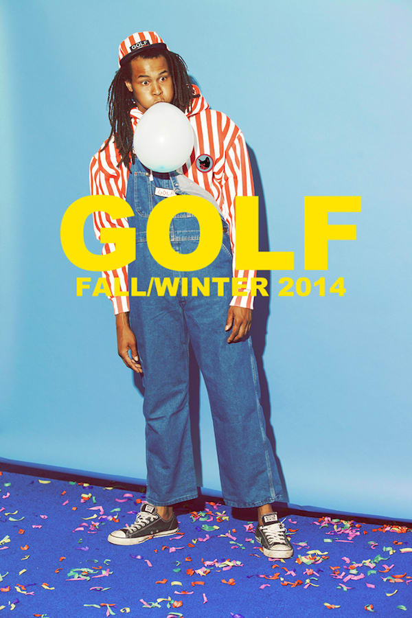 d2fbfcf15b1 All images via Golf Wang. Odd Future s Golf Wang brand presents a sneak  peak at its upcoming Fall Winter 2014 collection ...