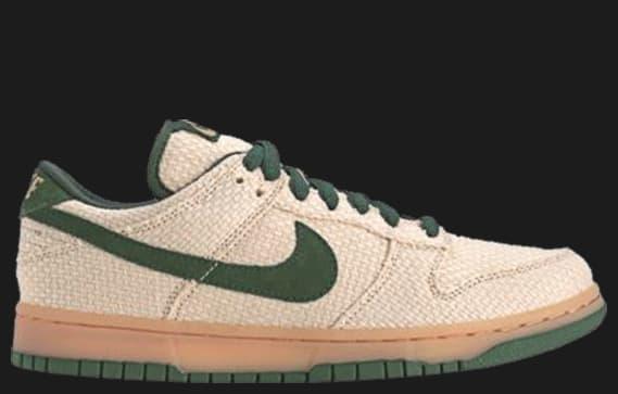 finest selection cf29a 9f06a 34 Nike Dunk Low Pro SB – Green Hemp 420