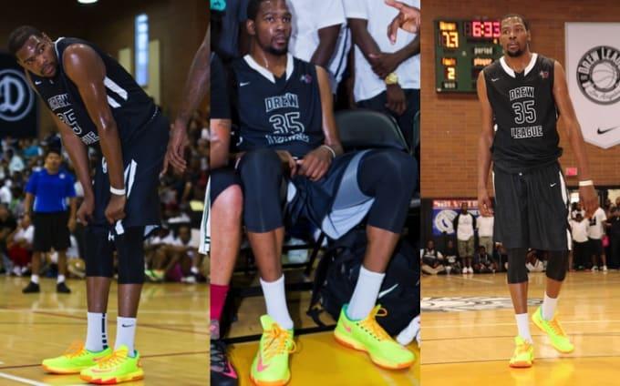 c6085c23fefe Player Or Fan  Kevin Durant Sneaker  Nike KD VI Date  2013 Drew League -  Week 11