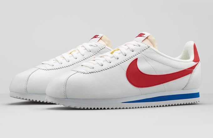 low priced abbc9 f7714 Nike Cortez returns in Classic colorway.  Complex