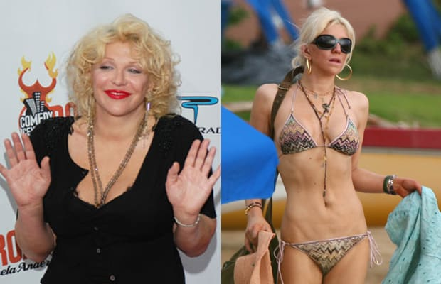 Courtney Love - A History of Drastic Celebrity Weight Loss ...