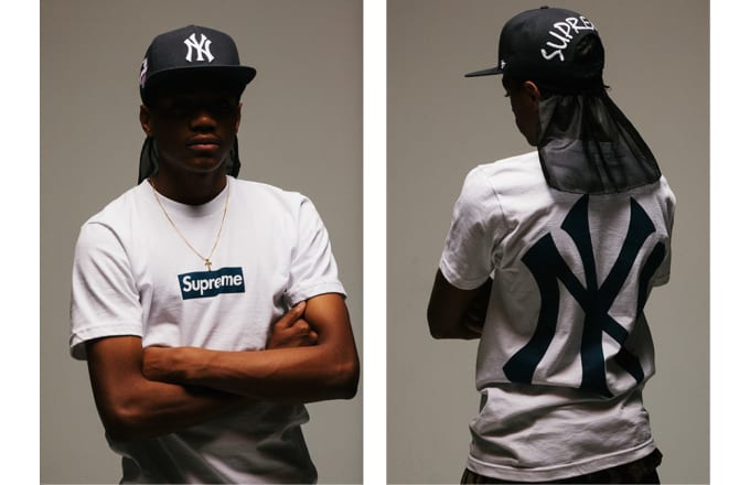 Supreme Collaborates with 47 Brand on a Full NY Yankees Capsule ... e8ca48b13d9a