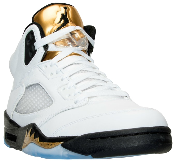 Air Jordan 5 Gold Coin Olympic Release Date 136027-133 0bff57596