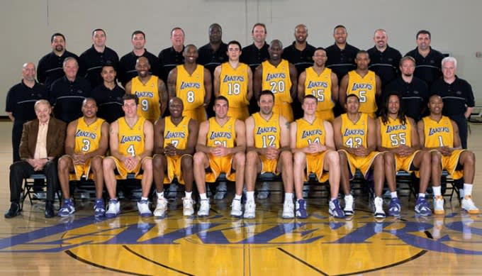Where Are They Now? The 2004-05 Los Angeles Lakers   Complex