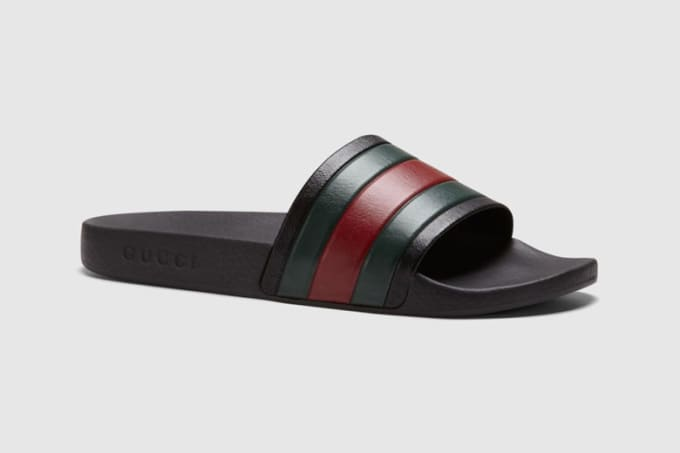A Tale of Two Flip-Flops  How Gucci Stole adidas  Adilette Design ... f6502cd62