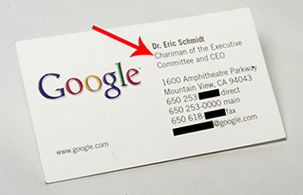 Gallery 11 cool business cards of famous tech ceos complex eric schmidt google colourmoves