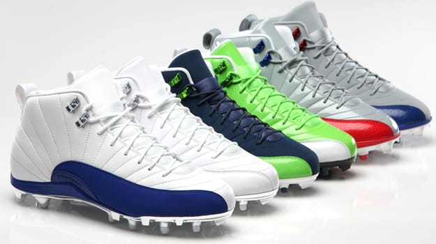Air Jordan XII Football Cleats_1