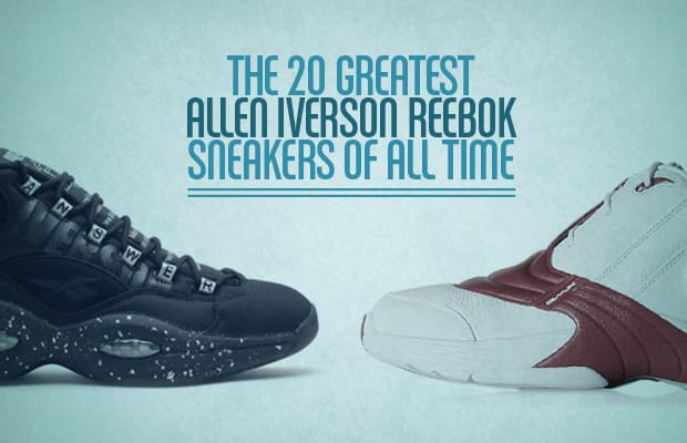 check out 39752 f8aa2 The 20 Greatest Allen Iverson Reebok Sneakers of All Time   Complex