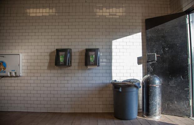 Public bathroom central park