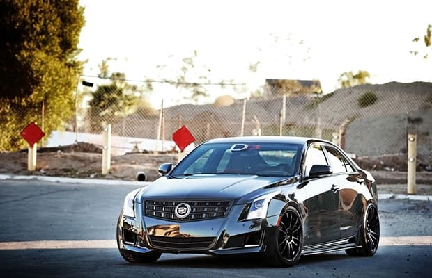 D3 Customizes The Cadillac Ats Complex