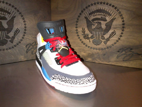 best website daadf d9198 Jordan has gone presidential, as they have crafted an intimate offering of  the Air Jordan Spizike for President Barack Obama and wife Michelle.