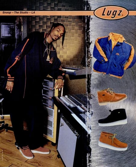 Snoop Dogg For Lugz2 The 90 Best Hip Hop Fashion Ads Of