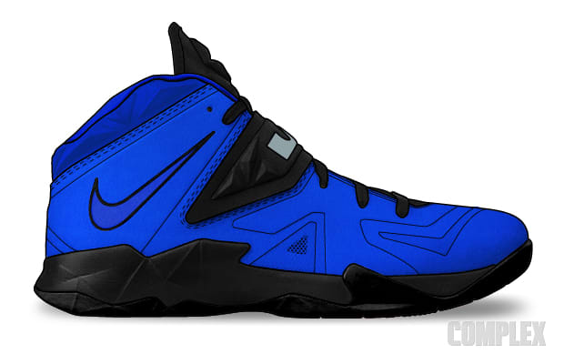 Blue Suede - Imagining Nike LeBron XI Colorways on the ...