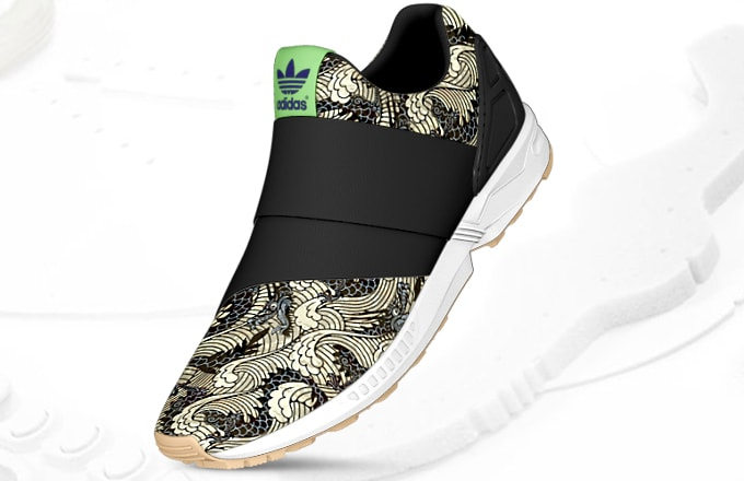 best service c7b99 59140 adidas ZX Flux Slip-On Now Available to Customize on mi adidas   Complex