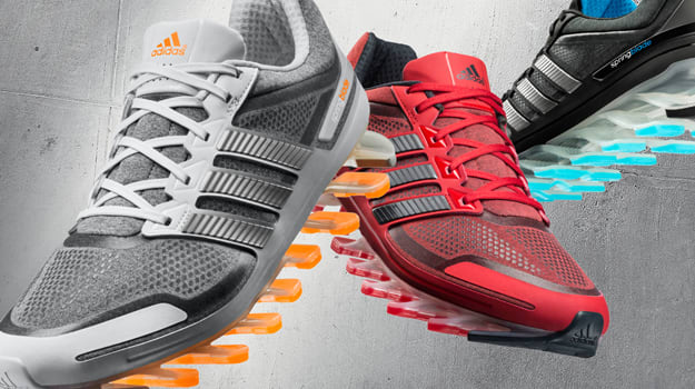 adidas Springblade heathered collection