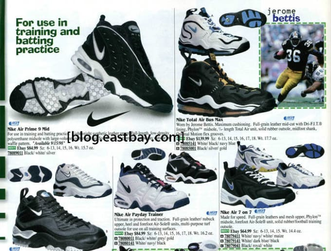 be98f0dd4cb1 25 Classic Sneakers From Vintage Eastbay Catalogs