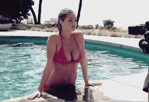 Kate upton wet t shirt contest