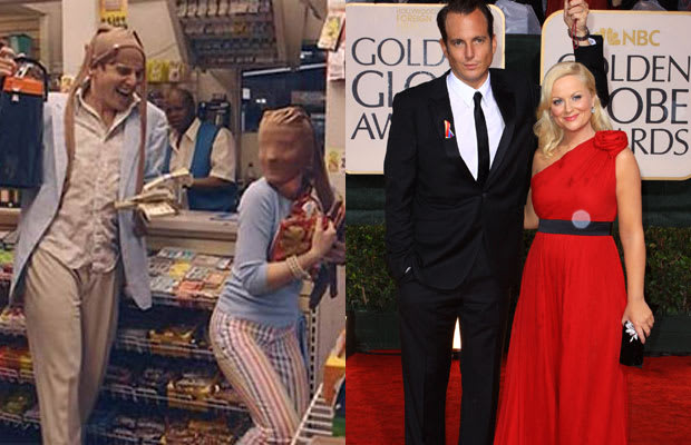 will arnett and amy poehler of arrested development screen to streets 20 tv couples who dated. Black Bedroom Furniture Sets. Home Design Ideas