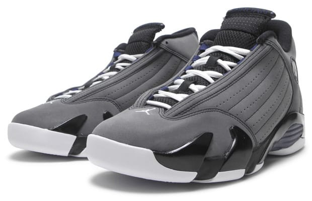 Air Jordan 14 Retro. Release Date  10 8 2011. Style Code  311832-011.  Colorway  Light Graphite Midnight Navy-Black a06b547a0d