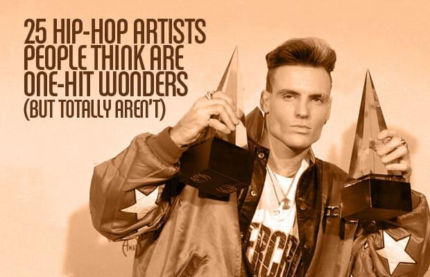 Hip hop one hit wonders