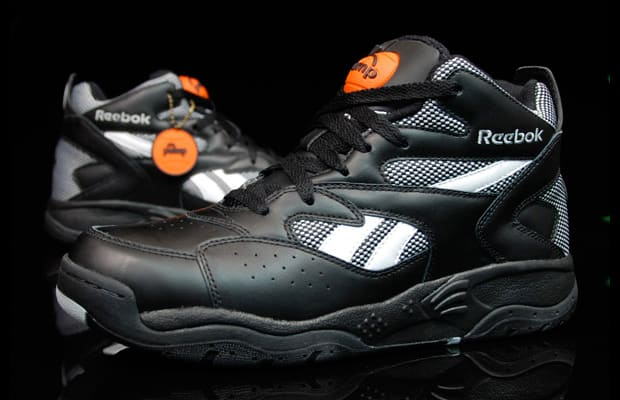reebok double pump basketball shoes