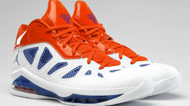 hot sale online 89850 fbb77 With the opening day of the 2012 NBA season just weeks away, we take a  moment to look at the Jordan Melo M8 Advance basketball sneaker.