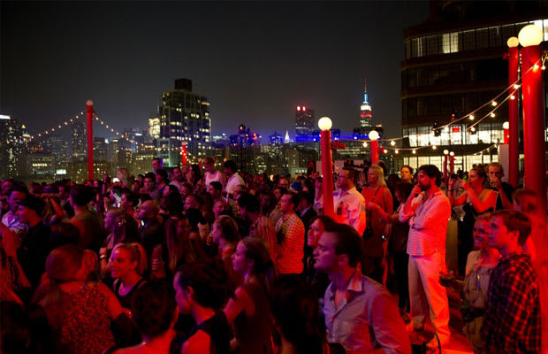 Every Party is a Rooftop Party
