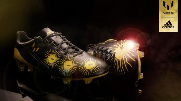 035e3634c adidas Unveils Special Ballon d Or f50 Cleats for Lionel Messi