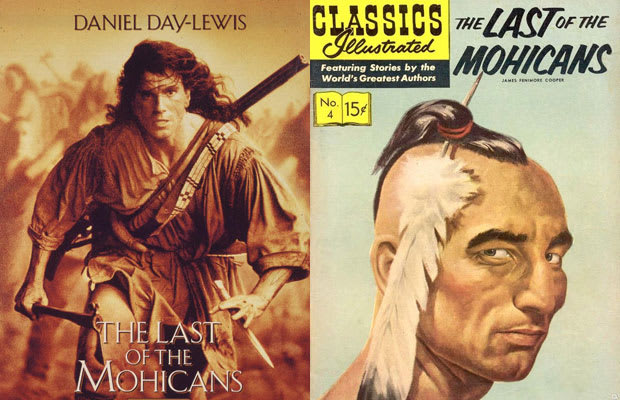 An analysis and comparison of the last of the mohicans novel by james fenimore cooper