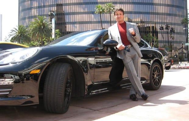 Sylvester Stallone Gallery 25 Celebrities And Their Porsche
