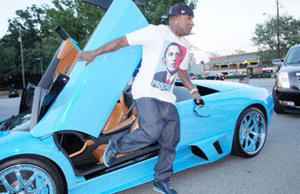 Young Jeezy 25 Celebrities And Their Lamborghinis Complex
