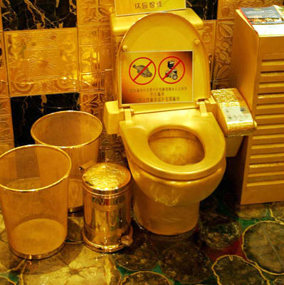 Gold Toilet The Most Ridiculous Gold Items You Can Buy Complex