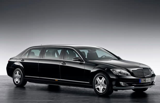 Pullman i stallet for maybach