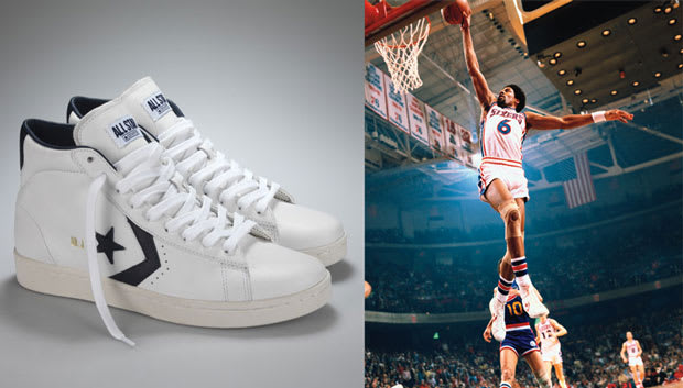 dr j converse shoes