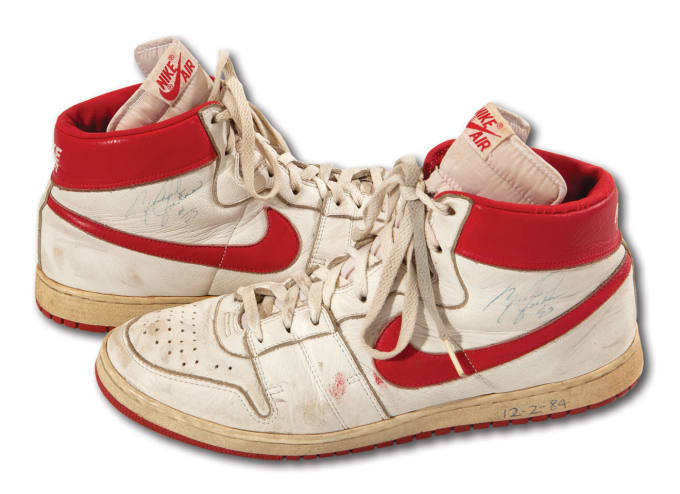 f2e09ae3718296 The Rarest Michael Jordan Sneakers of All Time Are up for Auction ...