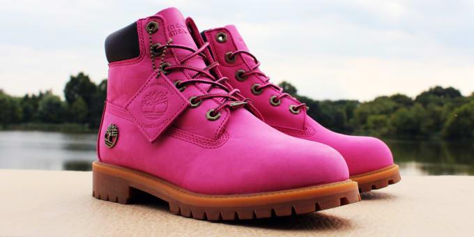 Timberland x Susan G. Komen Foundation Hot Pink 6 Inch Boot  5740ed99a27b