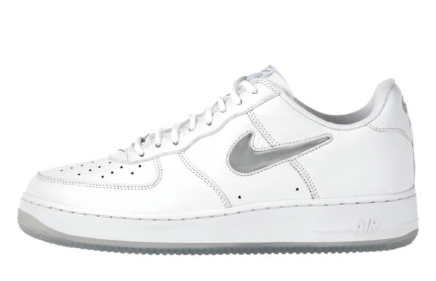 premium selection b20e6 a6148 Air Force 1 Low CL White – Metallic Silver – Ice