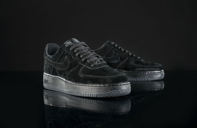 6796e5b1c53198 Nike Iar Force One Low Turple Black