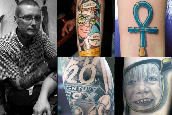 Straight Line Tattoo Artist Uk : Scott campbell tattoo artists you need to know complex