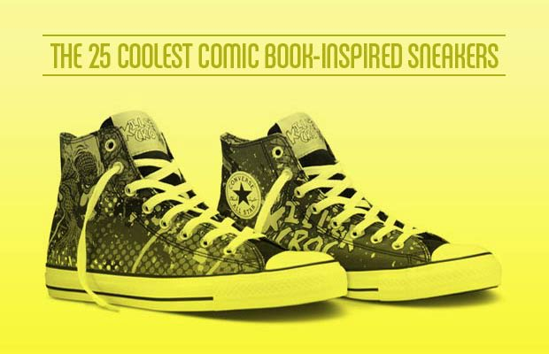1a2e75f882a448 Fanboys and sneakerheads were given equal reason to celebrate last week  when Converse launched its latest collaboration with DC Comics  a series of  ...